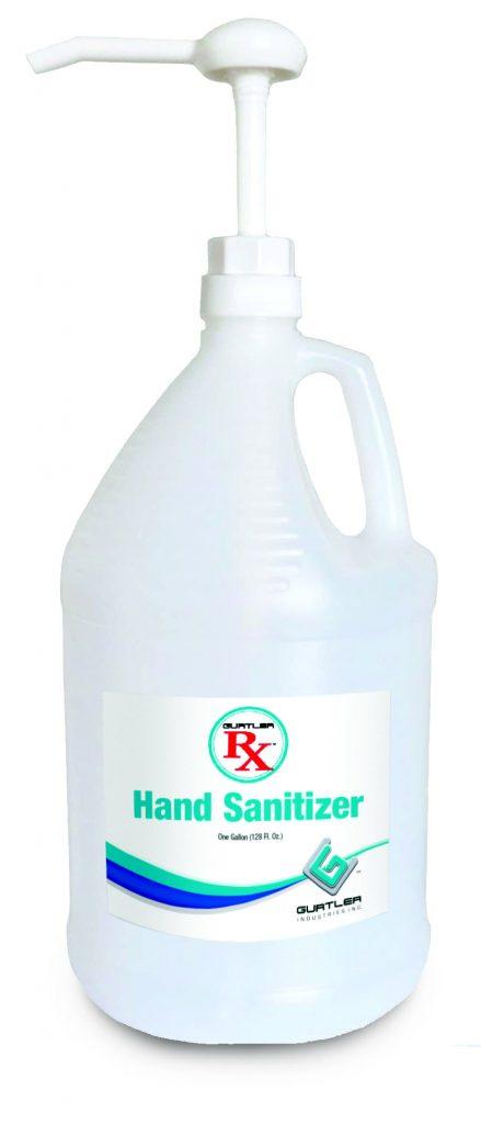 Gurtler Rx Hand Sanitizer Jug