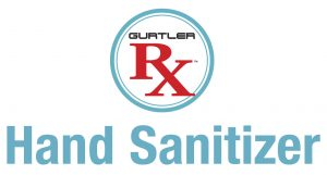Gurtler Rx Hand Sanitizer Logo